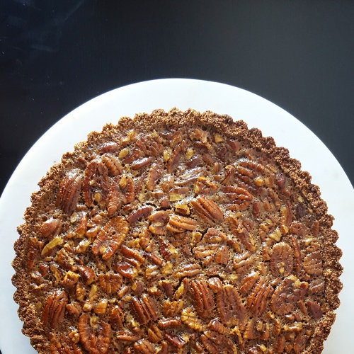pecan pie (available for Thanksgiving)  gluten free, dairy free