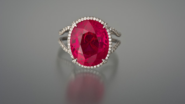 Photo Credit: GIA 11.01 Carat Ruby