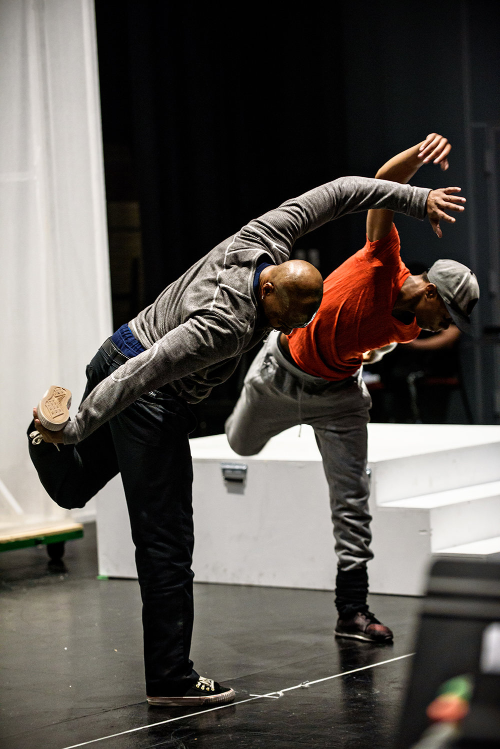 Raphael Xavier - Assistant Choreographer, Michael Bishop - OG