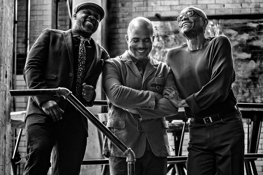 Left to right: Marc, Daniel, Bill