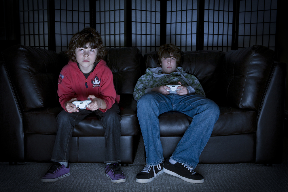 teenager addicted to computer games 90% of children play computer games 10% of them are addicted the dangers of  computers games have been in the news again recently with.