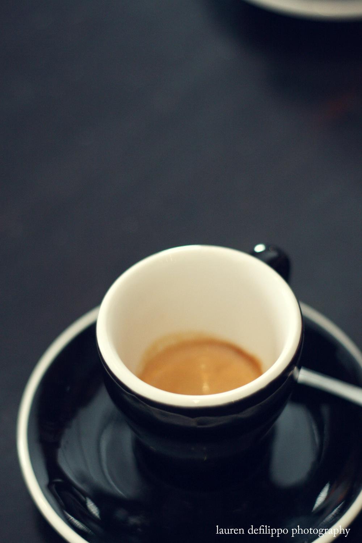 Espresso at Sweetleaf.