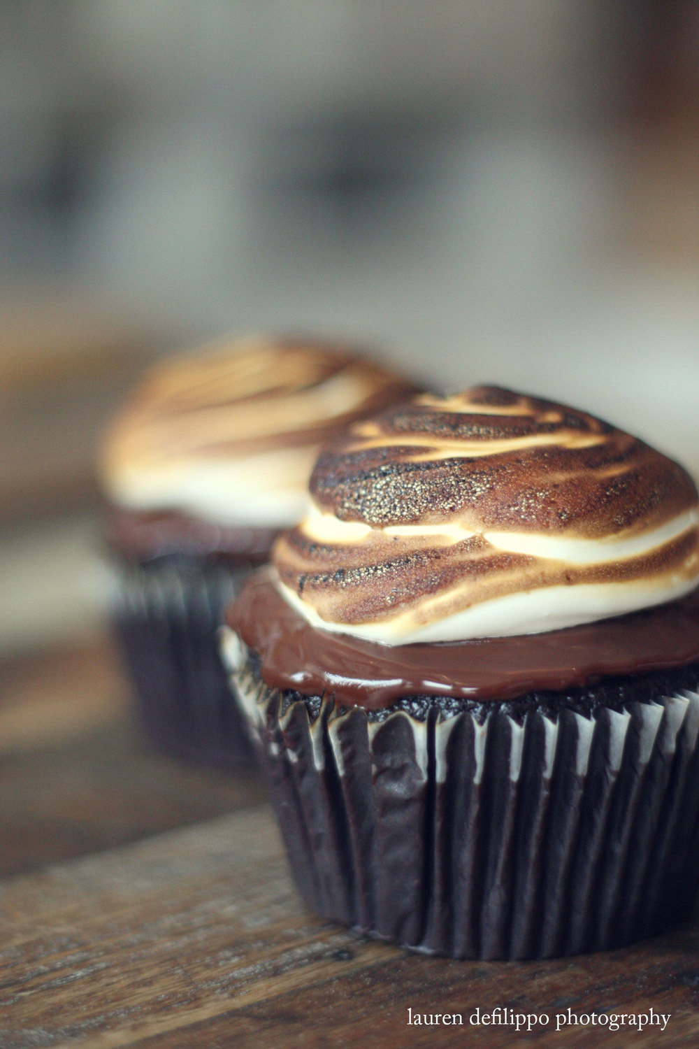 Don't forget dessert: from their signature gelato and sorbetto, to these beautifully brûléed s'mores cupcakes, the shop's not short on sweets.