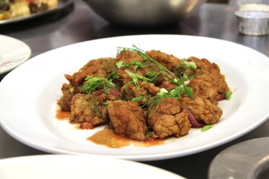 Mario Batali's Fennel Dusted Sweetbreads