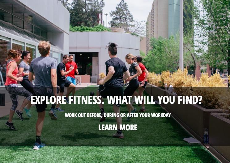 explore fitness // class descriptions, brand taglines