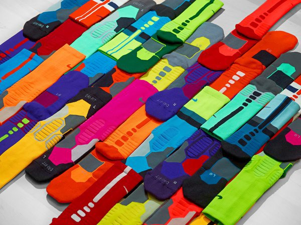 Nike Elite Socks. Photo copyright Nike.