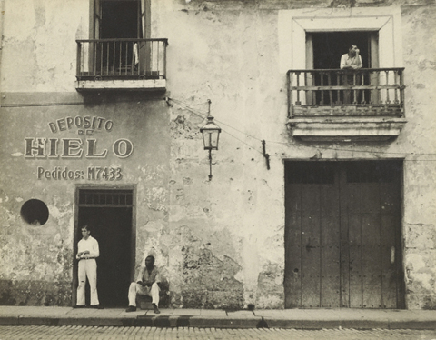 """Old Havana Housefronts"" by Walker Evans, 1933. From  here ."