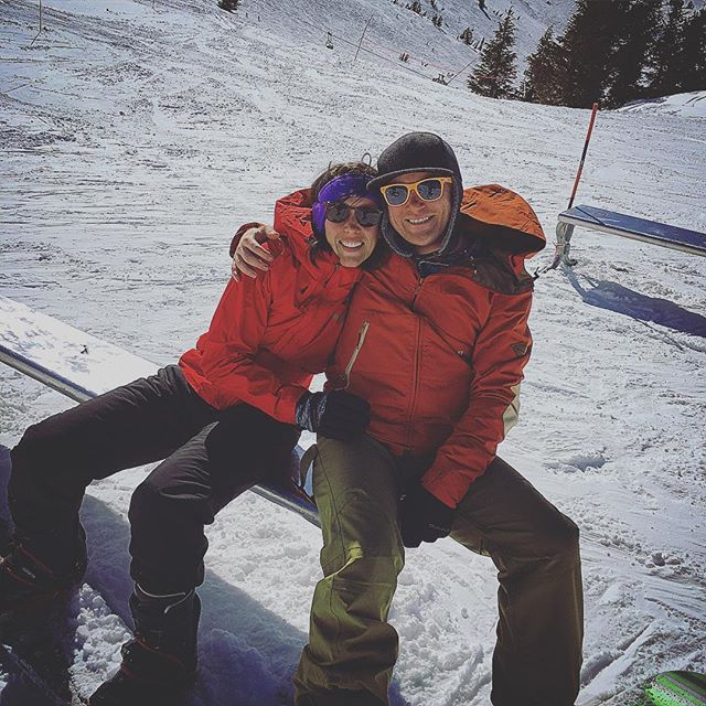 Killing day at Mammoth!  #mammothmountain #lovecation #snowboarding