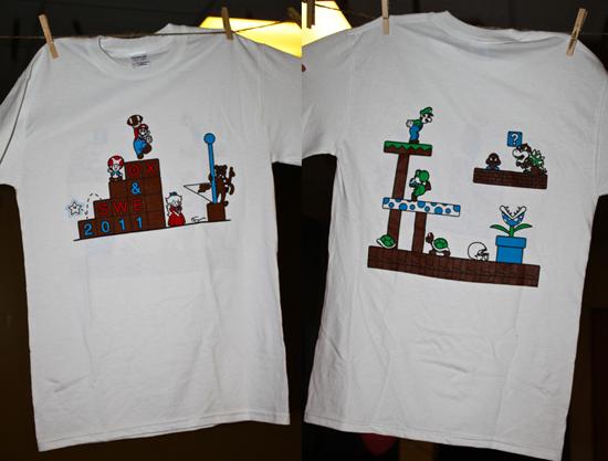 1st place T-shirt