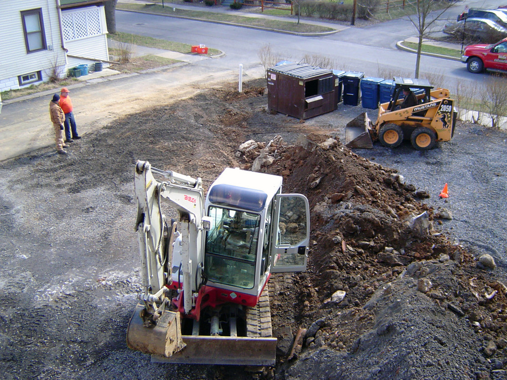 Sewer pipe replacement and repair - March 2011