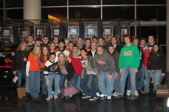 Flyers Game for THON - Dec. 20, 2010