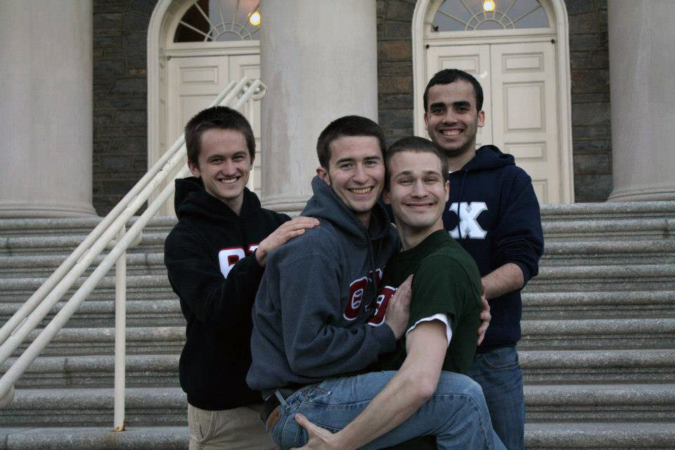 Spring 2013 Sean McCrea, Sam Kulp, Bobby Aichele and Shawn Stern
