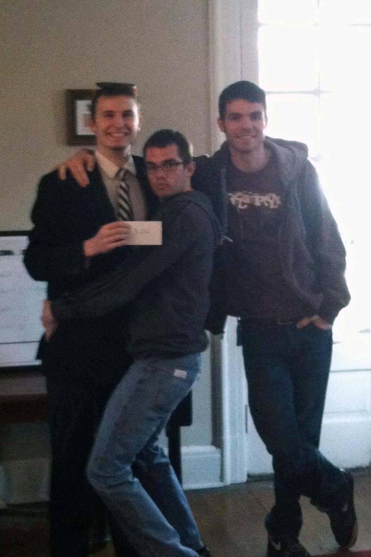 Room Picks 2013 Alex Tessmer, Brandon Roberts and Brad Mackey