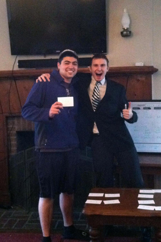 Room Picks 2013 Zach Meharey (L) and Alex Tessmer