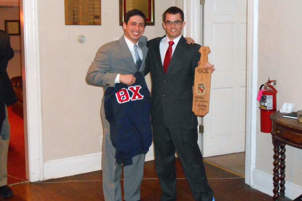 Spring 2013 Initiation Max Salons (L) and Brandon Roberts