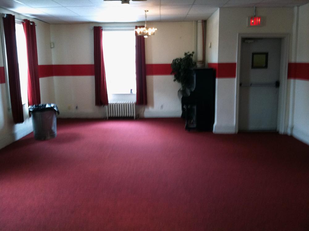2013 Alumni Work Weekend - Pool Room Project New Carpet