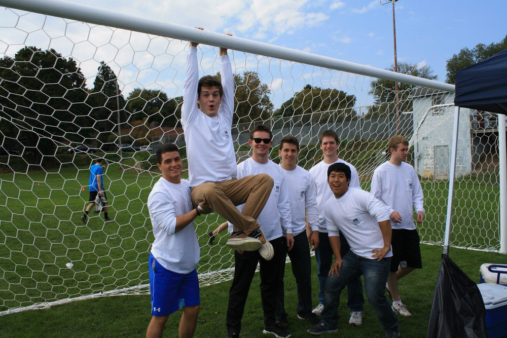 (L to R) Greg Black, Zach Kramer, Sean Siburn, Matt Randazzo, Ian Maxwell, Danny Lim, Eric Cushing