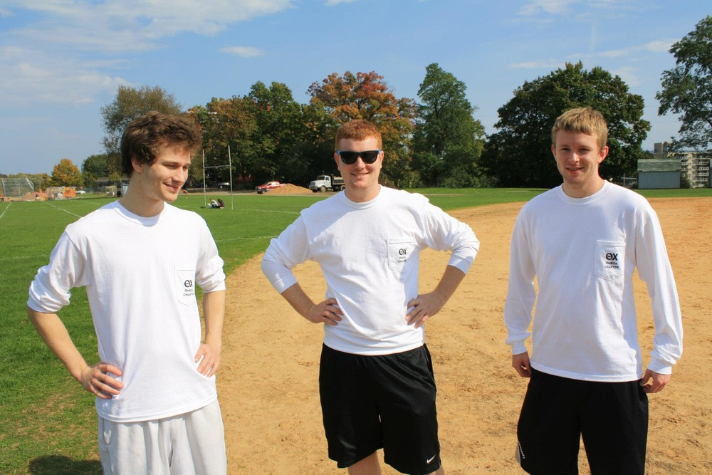 L to R: Bobby Aichele, Troy Slack, and Eric Cushing