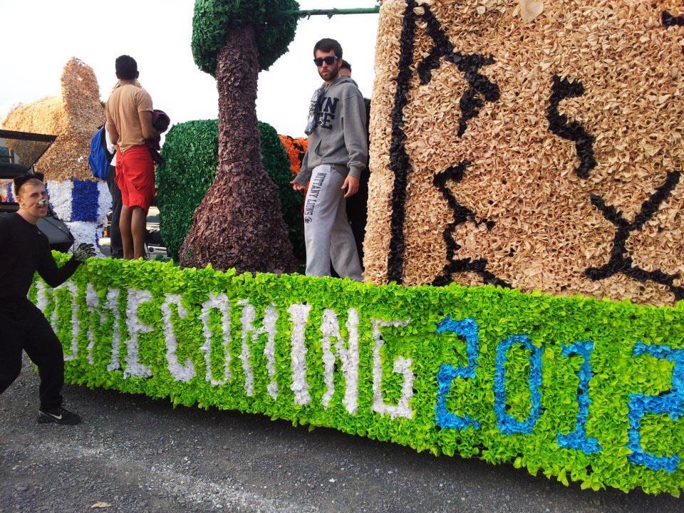Homecmoing 2012 - Oct. 5 2012David Stoltzfus and Peter Blasco