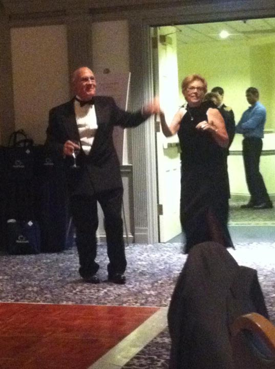 Richard and Jean Bartnik - Theta Chi Gala - Oct. 21, 2013