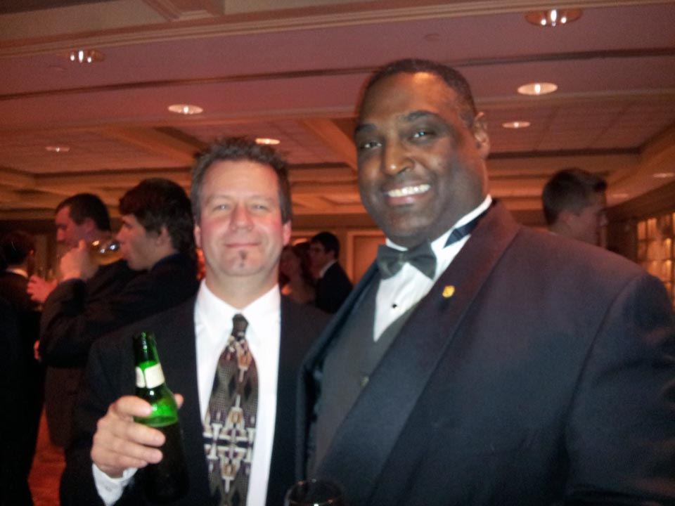 Rodney Miller (L) and Jim Smith - Theta Chi Gala - Oct. 21, 2013
