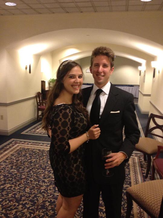 Becca Shapiro and Zach Dugan - Theta Chi Gala - Oct. 21, 2013