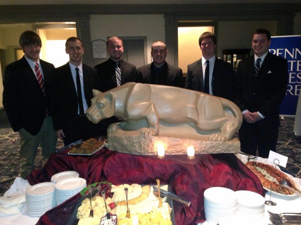 L to R: Nicholas Stadtlander, Dave Stoltzfus, Tyler Doppelheuer, Jason Jonas, Ian Maxwell and Kyle Sussman - Theta Chi Gala - Oct. 21, 2013