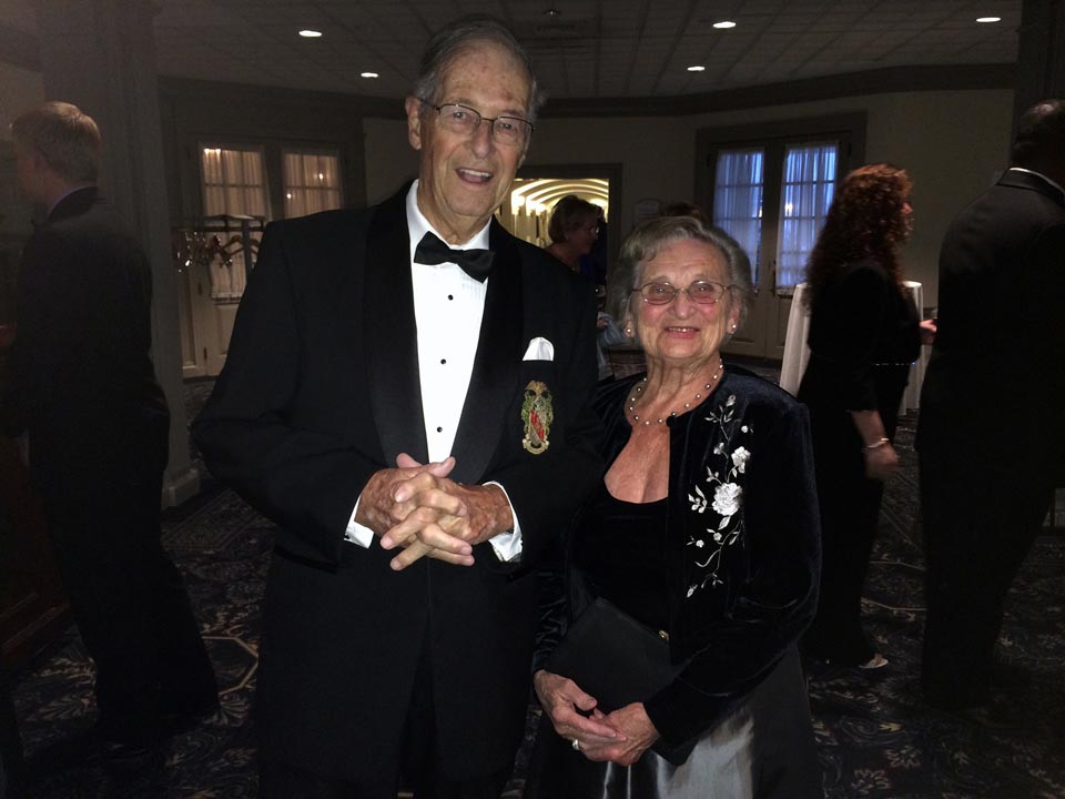 George Chapman Jr. and MaryAnn Chapman - Theta Chi Gala - Oct. 21, 2013