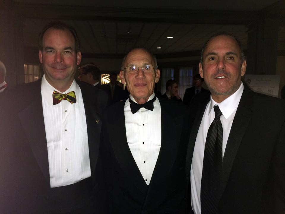 Leo Sugg, Richard Bartnik and Richard Maltz - Theta Chi Gala - Oct. 21, 2013
