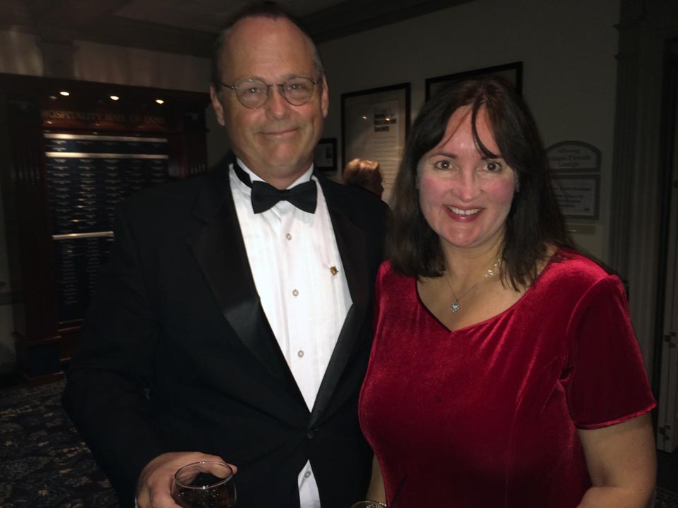 Hugh and Tracy Cadzow - Theta Chi Gala - Oct. 21, 2013