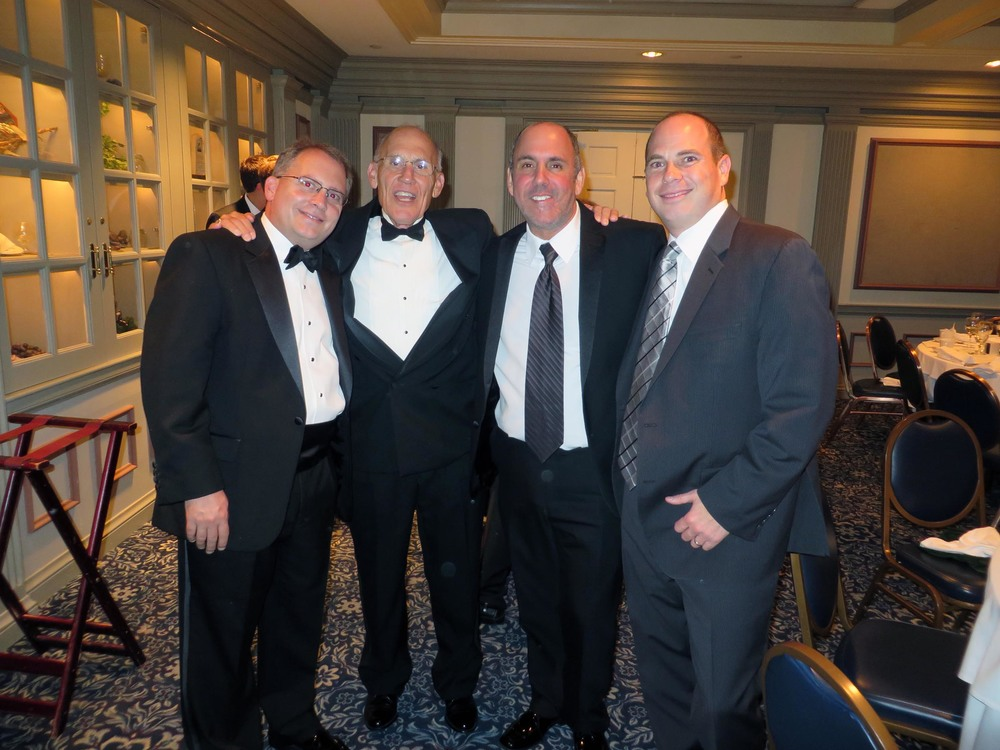 Chris Bartnik, Richard Bartnik, Richard Maltz and Micahel Stein - Theta Chi Gala - Oct. 21, 2013