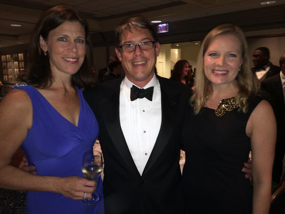 Laura Lanigan Lauder, Alan Lauder and Kate Scavello - Theta Chi Gala - Oct. 21, 2013