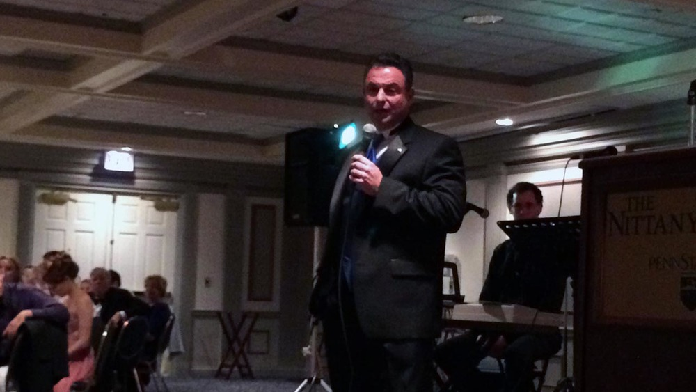 Keynote Speaker Penn State Board of Trustee Anthony Lubrano - Theta Chi Gala - Oct. 21, 2013