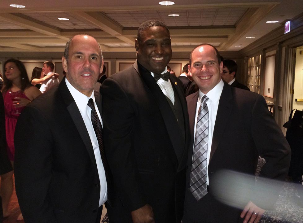 Richard Maltz, Jim Smith and Michael Stein - Theta Chi Gala - Oct. 21, 2013