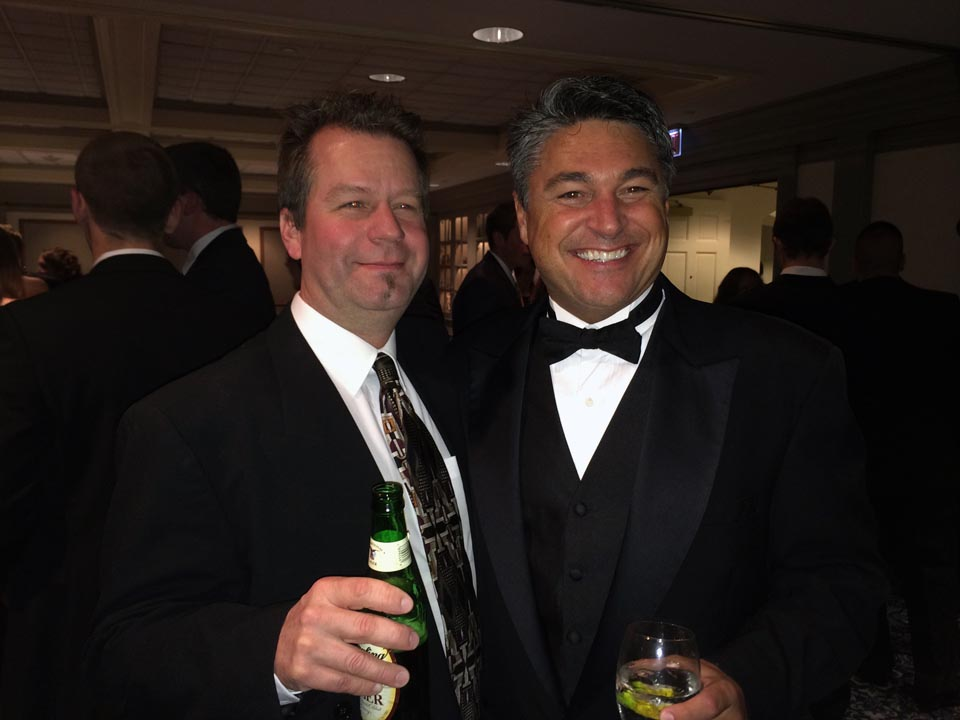 Rodney Miller (L) and David Noll - Theta Chi Gala - Oct. 21, 2013