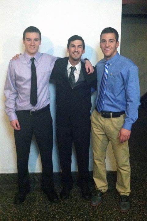 Mark Joyce, Zach Bunsick and Matt Randazzo - Big Little Brother Night - Oct. 20, 2013