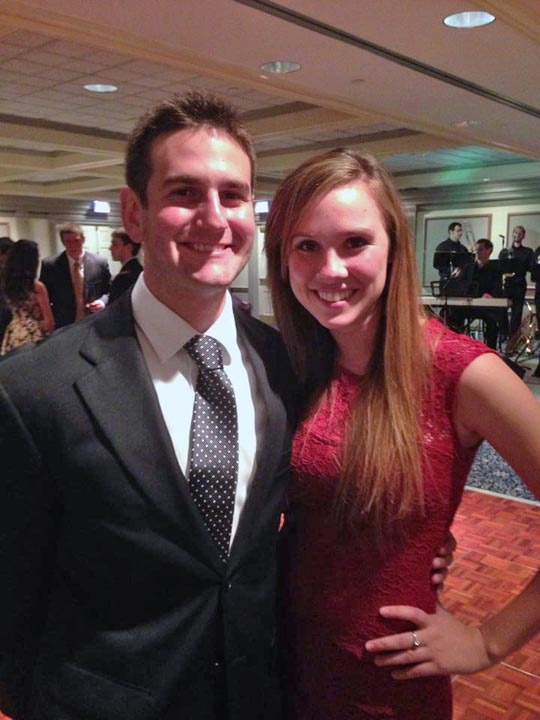 Nick Lello and Sarah Leach - Theta Chi Gala - Oct. 21, 2013