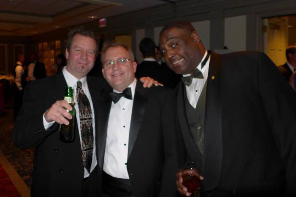Rodney D. Miller, Chris Bartnik and Jim Smith - Theta Chi Gala - Oct. 21, 2013