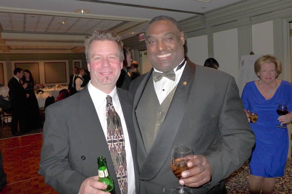 Rodney D. Miller and Jim Smith - Theta Chi Gala - Oct. 21, 2013