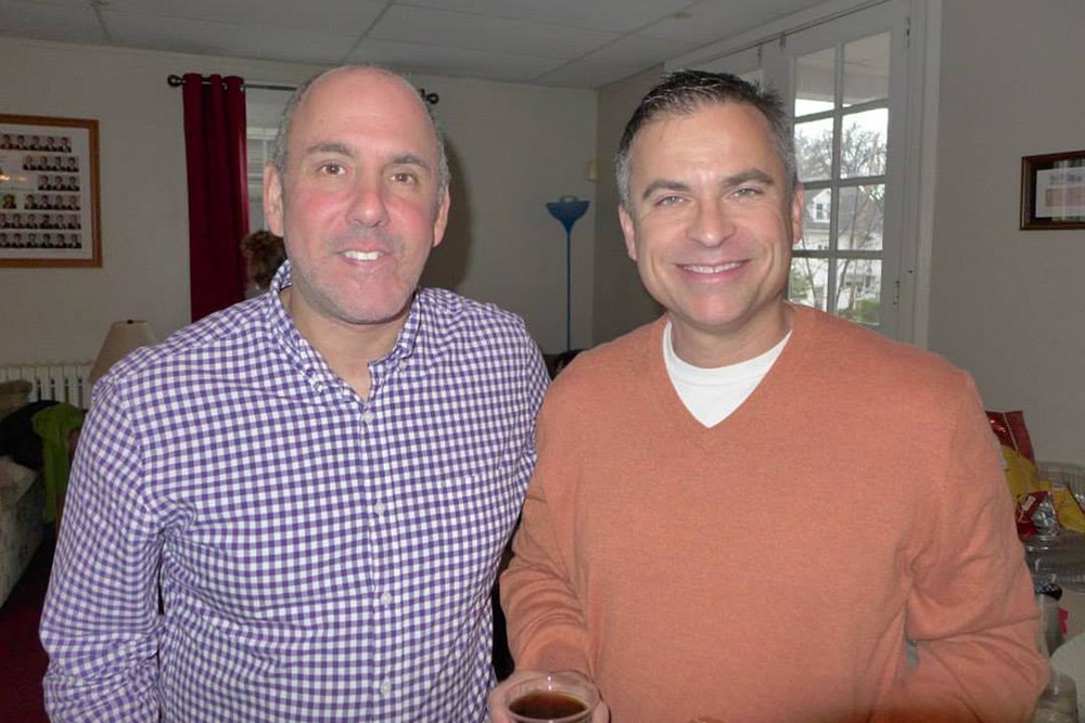 RIchard Maltz and Edward Brown- Theta Chi Lunch - Oct. 21, 2013