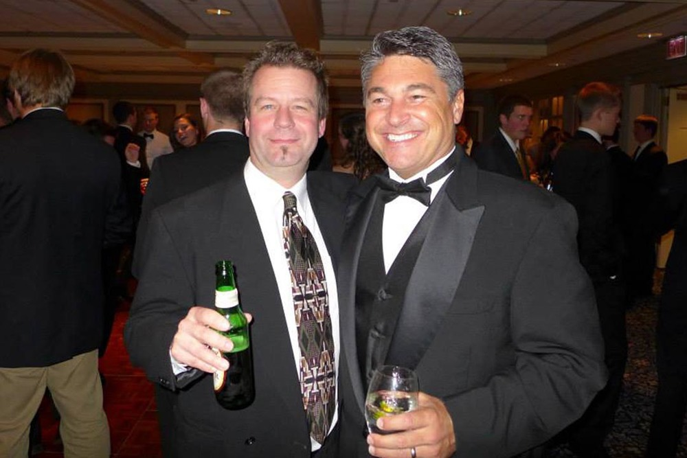 Rodney D. Miller (L) and Dave Noll - Theta Chi Gala - Oct. 21, 2013