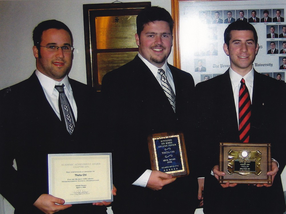 L to R: Jacob Wolf, Chris Haggerty and Robert Blumstein