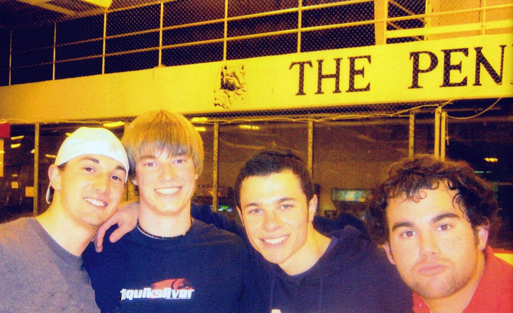 L to R: Casey Leman, Jared Metzger, Dan Tseytlin and Jeffrey Kranzel