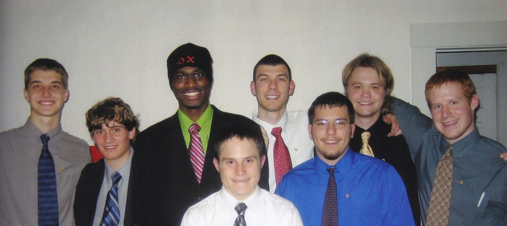 L to R: Paul Weber, Joe Sosik, LeShawn Haynes, Jasen Marshall, Yan Tseytlin (Marshal), Travis Pulling, Brad Neidig and Zach Binder