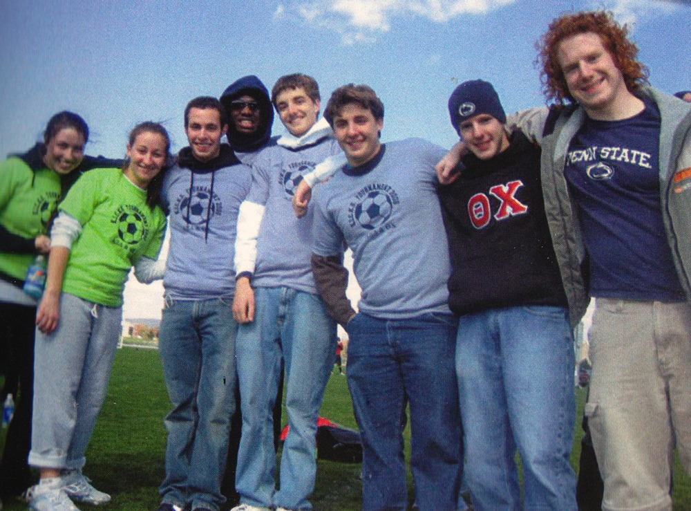 L to R: Jason Chottiner, LeShawn Haynes, Paul Weber, Timothy Uhrich, Keven Ahrens and  Zachary BenderKICKS 2006