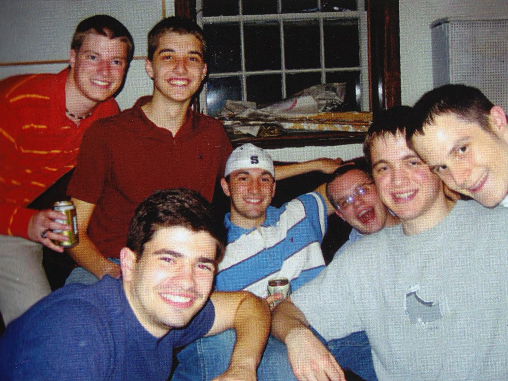 Clockwise from Top Left: Jared Metzger, Paul Weber, Robert McHugh, James Patterson, Joseph Aranowski, Jasen Marshall and James Nasralla
