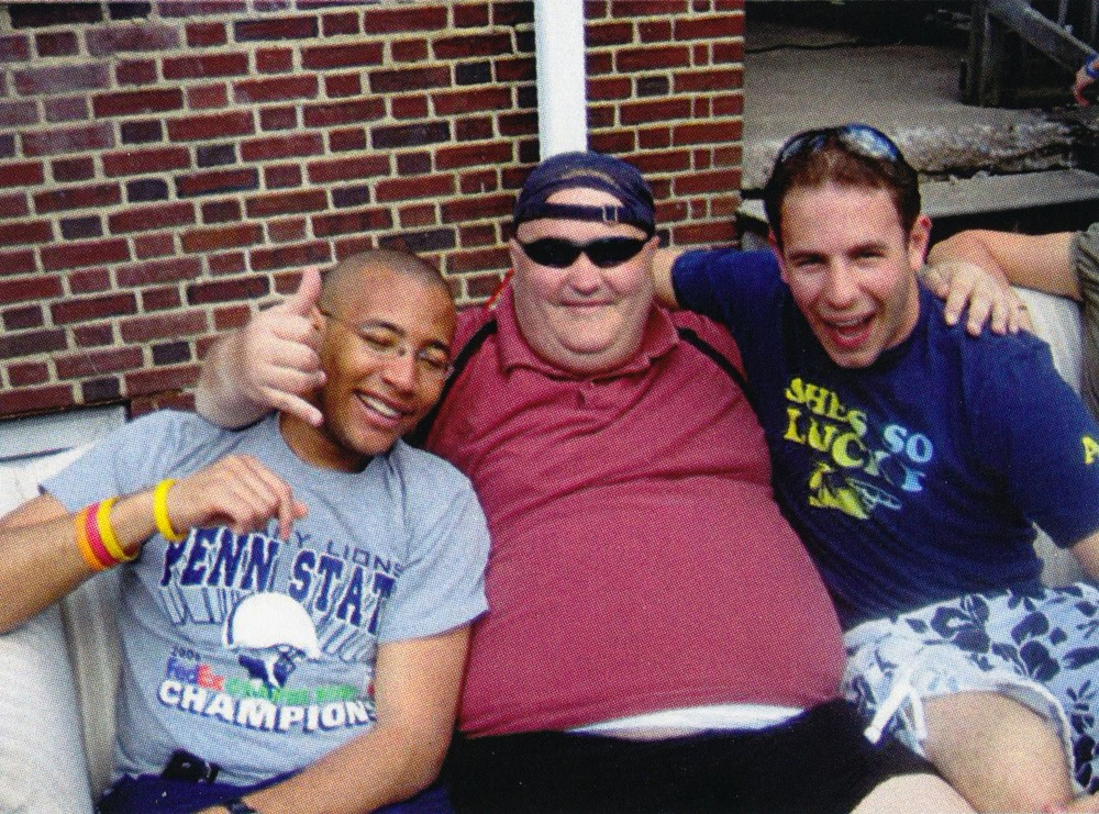 L to R: Michael Crawrford, Mark Outland and Dave Gendelman