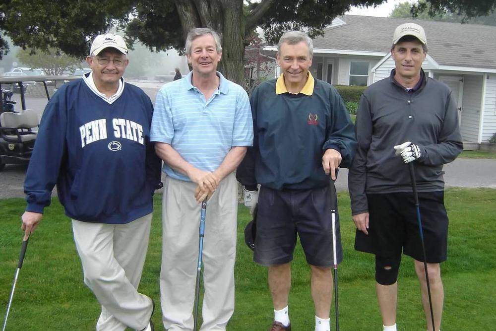2012 Theta Chi Golf OpenL to R: Ed Kivitz, Matt Mankus, Tom Raymond, Mike D'Alesio