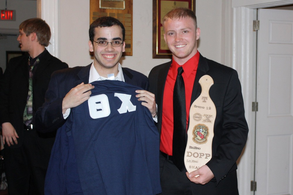 Little Brother Shawn Stern (L) and Big Brother Tyler Doppelheuer