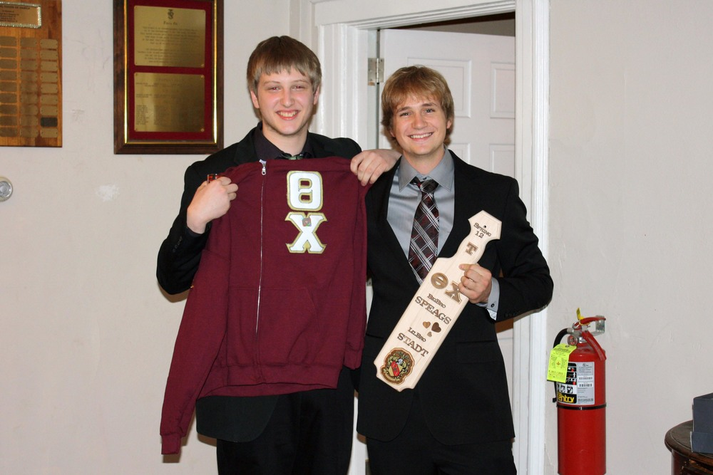 Little Brother Nick Stadtlander (L) and Big Brother Aaron Speagle